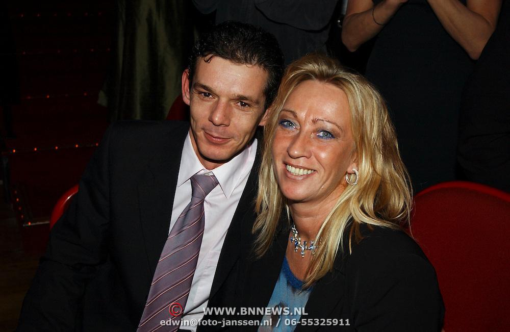 Harpengala 2004, Dorus Bauer en vrouw Diana