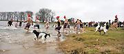 Nederland, Ooij, 1-1-2012Niewjaarsduik in de Bisonbaai.Foto: Flip Franssen/Hollandse Hoogte