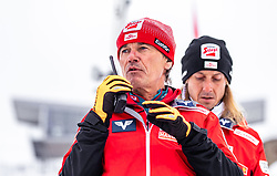 16.03.2019, Vikersundbakken, Vikersund, NOR, FIS Weltcup Skisprung, Raw Air, Vikersund, Teambewerb, im Bild Cheftrainer Andreas Felder (AUT) // Headcoach Andreas Felder of Austria during the team competition of the 4th Stage of the Raw Air Series of FIS Ski Jumping World Cup at the Vikersundbakken in Vikersund, Norway on 2019/03/16. EXPA Pictures © 2019, PhotoCredit: EXPA/ JFK
