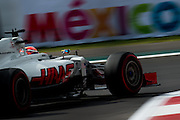 October 28, 2016: Mexican Grand Prix. Romain Grosjean (FRA), Haas