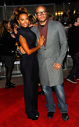 Mel B at the premiere of The Hunger Games in  London, Wednesday 14th March 2012. Photo by: i-Images