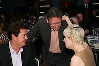Annie Lennox, Lucian Grainge Chairman and CEO of UMI, Simon Fuller