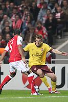 20101123: BRAGA, PORTUGAL - SC Braga vs Arsenal FC: UEFA Champions League 2010/2011 Group H Round 5. In picture: Bendtner. PHOTO: Pedro Benavente/CITYFILES