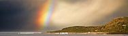 rainbow over Kennett River