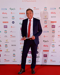 LIVERPOOL, ENGLAND - Tuesday, May 9, 2017: Former Liverpool player Alan Kennedy arrives on the red carpet for the Liverpool FC Players' Awards 2017 at Anfield. (Pic by David Rawcliffe/Propaganda)