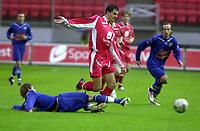 Fotball, Tippeligaen, 26 Sept 2004, Brann - Lyn, resultat 5-1, Paul Scharner, Brann.