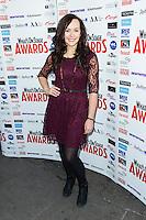 Savanna Stevenson, WhatsOnStage Awards Nominations - launch party, Cafe De Paris, London UK, 06 December 2013, Photo by Raimondas Kazenas