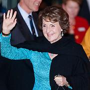 NLD/Utrecht/20130201 - Vertrek 75ste verjaardagfeest  Koninging Beatrix, Prinses Margriet