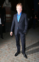 American TV host Conan O'Brien leaving The Chiltern Firehouse in London, UK. 30/07/2014<br />BYLINE MUST READ : JAMESY/GOTCHA IMAGES<br /><br />Copyright by © Gotcha Images Ltd. All rights reserved.<br />Usage of this image is conditional upon the acceptance <br />of Gotcha Images Ltd, terms and conditions available at<br />www.gotchaimages.com