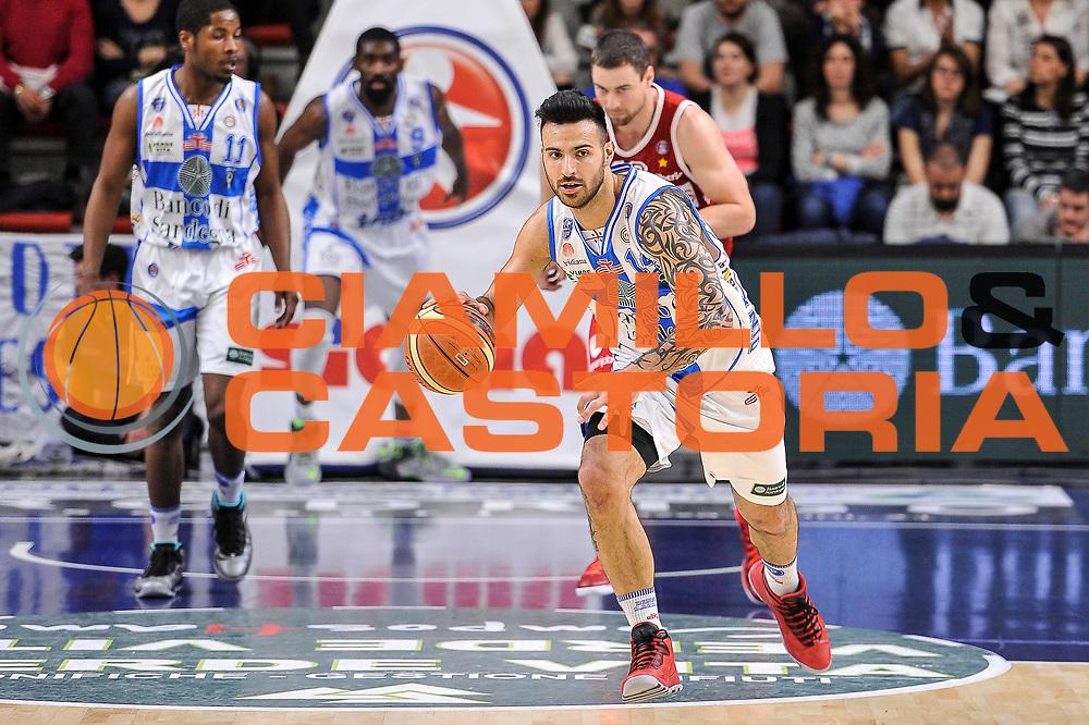 DESCRIZIONE : Campionato 2014/15 Dinamo Banco di Sardegna Sassari - Openjobmetis Varese<br /> GIOCATORE : Brian Sacchetti<br /> CATEGORIA : Palleggio Contropiede<br /> SQUADRA : Dinamo Banco di Sardegna Sassari<br /> EVENTO : LegaBasket Serie A Beko 2014/2015<br /> GARA : Dinamo Banco di Sardegna Sassari - Openjobmetis Varese<br /> DATA : 19/04/2015<br /> SPORT : Pallacanestro <br /> AUTORE : Agenzia Ciamillo-Castoria/L.Canu<br /> Predefinita :