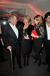 Left to right, MARK SHAND, his sister ANNABEL ELLIOT and her daughter KATE ELLIOT at Quintessentially's 10th birthday party held at The Savoy Hotel, London on 13th December 2010.