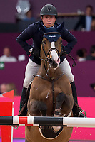 Rider Julio Arias and his horse Jimcy du Lys during Madrid Horse Week at Ifema in Madrid, Spain. November 26, 2017. (ALTERPHOTOS/Borja B.Hojas)
