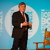 Borders Book Festival Gordon Brown