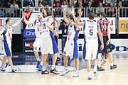 DESCRIZIONE : Cantu Campionato Lega A 2011-12 Bennet Cantu Angelico Biella<br /> GIOCATORE : Team Bennet Cantu<br /> CATEGORIA : Ritratto Esultanza<br /> SQUADRA : Bennet Cantu<br /> EVENTO : Campionato Lega A 2011-2012<br /> GARA : Bennet Cantu Angelico Biella<br /> DATA : 08/01/2012<br /> SPORT : Pallacanestro<br /> AUTORE : Agenzia Ciamillo-Castoria/G.Cottini<br /> Galleria : Lega Basket A 2011-2012<br /> Fotonotizia : Cantu Campionato Lega A 2011-12 Bennet Cantu Angelico Biella<br /> Predefinita :