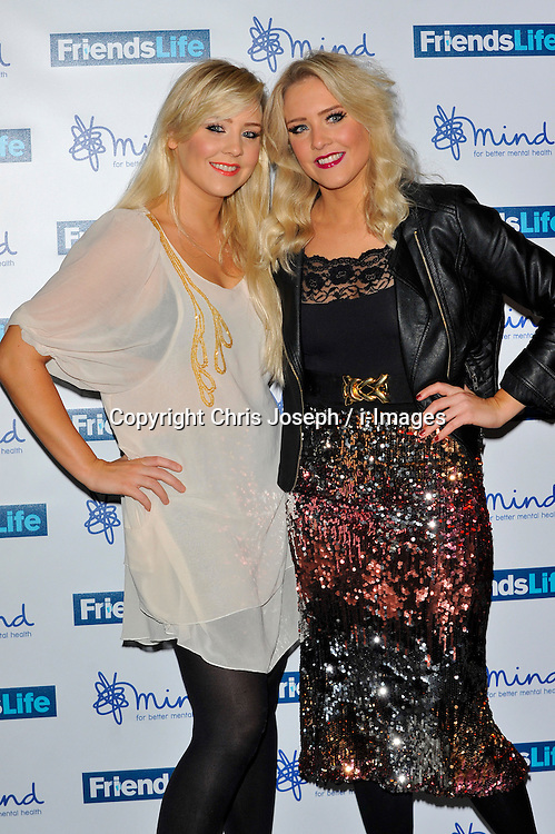 The Mac Twins attend the Mind Media Awards 2012, BFI Southbank, Belvedere Road, London, United Kingdom, November 19, 2012. Photo by Chris Joseph / i-Images.