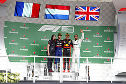 November 17, 2019, Sao Paulo, Brazil: Motorsports: FIA Formula One World Championship 2019, Grand Prix of Brazil, . #10 Pierre Gasly (FRA, Red Bull Toro Rosso Honda), .#33 Max Verstappen (NLD, Aston Martin Red Bull Racing), .#44 Lewis Hamilton (GBR, Mercedes AMG Petronas Motorsport) (Credit Image: © Hoch Zwei via ZUMA Wire)