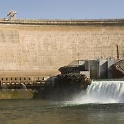 New hydro-electric power plant at Arrowrock Dam, Boise, Boise County, Idaho