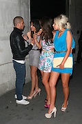 11.JUNE.2011. LONDON<br /> <br /> CORONATION STREET ACTRESSES BROOKE VINCENT, MICHELLE KEEGAN AND SACHA PARKINSON WITH THE WANTED SINGER MAX GEORGE CELEBRATING AT BROOKE VINCENTS BIRTHDAY BASH AT MERAH IN LONDON<br /> <br /> BYLINE: EDBIMAGEARCHIVE.COM<br /> <br /> *THIS IMAGE IS STRICTLY FOR UK NEWSPAPERS AND MAGAZINES ONLY*<br /> *FOR WORLD WIDE SALES AND WEB USE PLEASE CONTACT EDBIMAGEARCHIVE - 0208 954 5968*