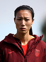 International Women's Friendly Matchs 2019 / <br /> Womens's Algarve Cup Tournament 2019 - <br /> Denmark v China 1-0 ( Complexo Desportivo - Vila Real Santo Antonio,Portugal ) - <br /> LIN YUPING of China