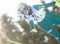 KOMAR Katra during First round on Day 1 of FIS Ski Jumping World Cup Ladies Ljubno 2020, on February 22th, 2020 in Ljubno ob Savinji, Ljubno ob Savinji, Slovenia. Photo by Matic Ritonja / Sportida