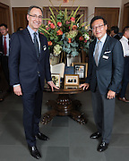 Photo by Mara Lavitt<br /> September 29, 2016<br /> The inaugural celebration for the Paul Tsai China Center, Yale Law School, Yale University, New Haven, CT. Joe Tsai donated $30 million to rename the center for his father. The event continued at the Maurice Greenberg Conference Center.