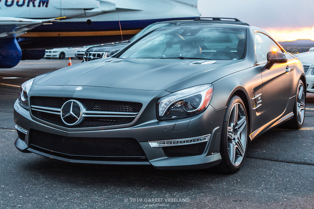 That Mercedes SL matte Shadow Grey paintjob. Told you I'd come back to it.