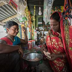Nepal -  Santal and Dalit communities