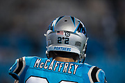 October 17, 2017: Carolina Panthers vs the Philadelphia Eagles. Christian McCaffrey
