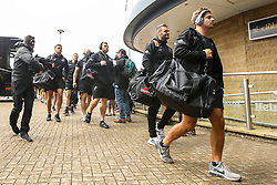 Exeter Chiefs arrive at The Ricoh Arena for the Gallagher Premiership match against Wasps - Mandatory by-line: Robbie Stephenson/JMP - 08/09/2018 - RUGBY - Ricoh Arena - Coventry, England - Wasps v Exeter Chiefs - Gallagher Premiership