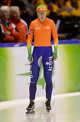 08-03-2013 SCHAATSEN: FINAL ISU WORLD CUP: HEERENVEEN<br /> NED, Speedskating Final World Cup Thialf Heerenveen / Laurine van Riessen op de 500 meter<br /> ©2013-FotoHoogendoorn.nl