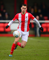MATT LOWE BRACKLEY TOWN, Brackley Town v Harrogate Town Vanarama National League North, St James Park Good Friday 30th March 2018, Score 0-0.