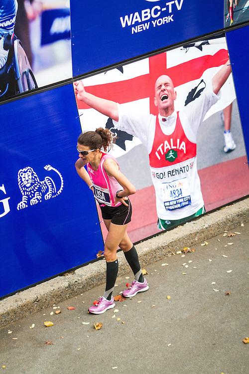 ING New York CIty Marathon: Lisa Stublic, Croatia, exhausted after finishing 12th