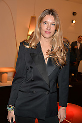 Sara Brajovic at the 2017 PAD Collector's Preview, Berkeley Square, London, England. 02 October 2017.