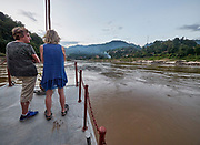 Laos. Luang Say Cruise on the Mekong. Arriving at Luang Say .