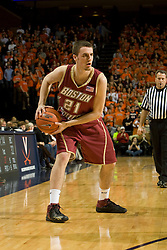 Boston College forward Tyler Roche (21) in action against Virginia.  The Virginia Cavaliers men's basketball team defeated the Boston College Golden Eagles 84-66 at the John Paul Jones Arena in Charlottesville, VA on January 19, 2008.