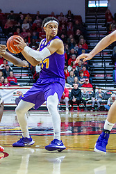 NORMAL, IL - December 31: Trae Berhow during a college basketball game between the ISU Redbirds and the University of Northern Iowa Panthers on December 31 2019 at Redbird Arena in Normal, IL. (Photo by Alan Look)