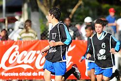 Barcelona x Social Futebol Clube válida pela copa Coca-Cola, no Estadio Candido de Menezes, neste sabado 03/09/2011, em Porto Alegre. FOTO: Marcelo Campos/Preview.com