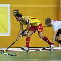 Spain v Russia men EuroNationsIndoor
