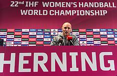 20151219 Pressemøde Danmark - IHF Women Handball World Championship
