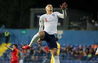 PODGORICA, MONTENEGRO - MARCH 25: England's Ross Barkley celebrates goal during the 2020 UEFA European Championships group A qualifying match between Montenegro and England at Podgorica City Stadium on March 25, 2019 in Podgorica, Montenegro. (MB Media)