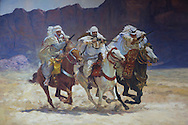 painting of arabs in Algiers