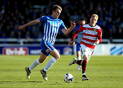 Rhys Oates of Hartlepool United runs with the ball - Mandatory by-line: Robbie Stephenson/JMP - 06/05/2017 - FOOTBALL - The Northern Gas and Power Stadium (Victoria Park) - Hartlepool, England - Hartlepool United v Doncaster Rovers - Sky Bet League Two