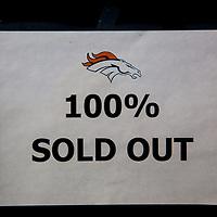 DENVER, COLORADO -- Denver Broncos take on the Kansas City Chiefs at SPorts Authority Field in Denver, Colorado.  (PHOTO / CHIP LITHERLAND)