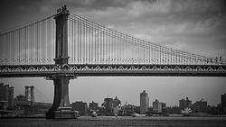 New York City Manhattan Unites States of America<br /> Images taken 3rd July 2017<br /> Brooklyn Bridge