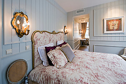 One of the well appointed rooms at the B&B Bonifacius in Bruges, Belgium, Tuesday, Sept. 9, 2008. (Photo © Jock Fistick)