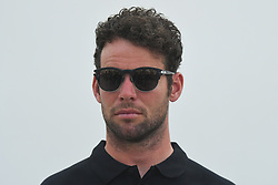 February 23, 2019 - Abu Dhabi, United Arab Emirates - Mark Cavendish of Great Britain and Team Dimension Data, seen during Top Riders Photo session at the entrance to the Louvre Abu Dhabi museum..On Saturday, February 23, 2019, Abu Dhabi, United Arab Emirates. (Credit Image: © Artur Widak/NurPhoto via ZUMA Press)