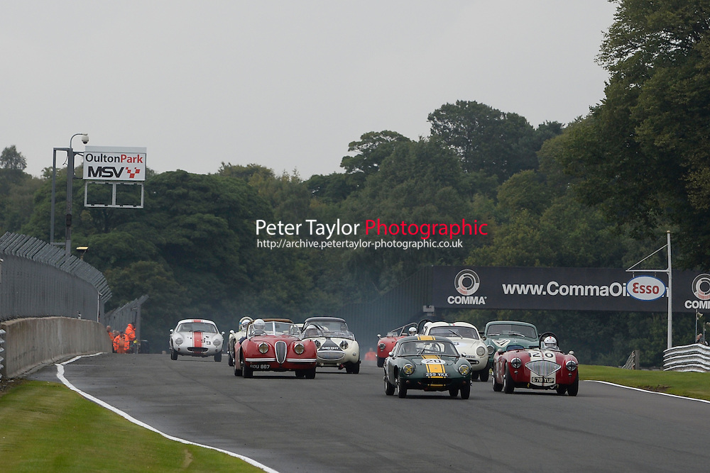 #20 Mike Freeman Lotus Elite during FISCAR Inter Marque Challenge - Race as part of the Oulton Park Gold Cup at Oulton Park, Little Budworth, Cheshire, United Kingdom. August 31 2015. World Copyright Taylor/PSP. Copy of publication required for printed pictures.  Every used picture is fee-liable. http://archive.petertaylor-photographic.co.uk