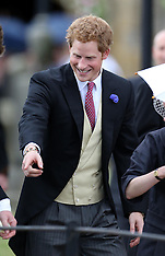 File Photo - Prince Harry of Wales Turns 29 on Sunday 15 September 2013