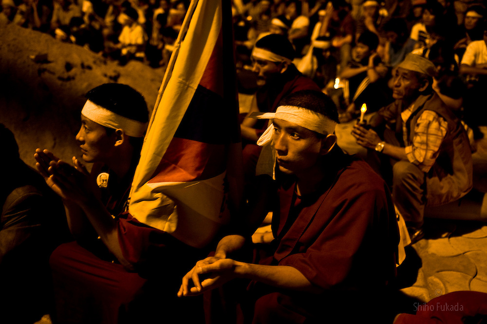 INDIA - Life in Exile (Tibetan Refugees) <br />
