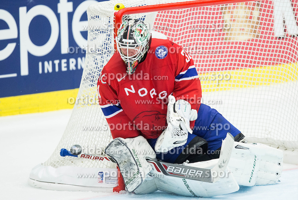 during Ice Hockey match between Norway and Finland at Day 4 in Group B of 2015 IIHF World Championship, on May 4, 2015 in CEZ Arena, Ostrava, Czech Republic. Photo by Vid Ponikvar / Sportida